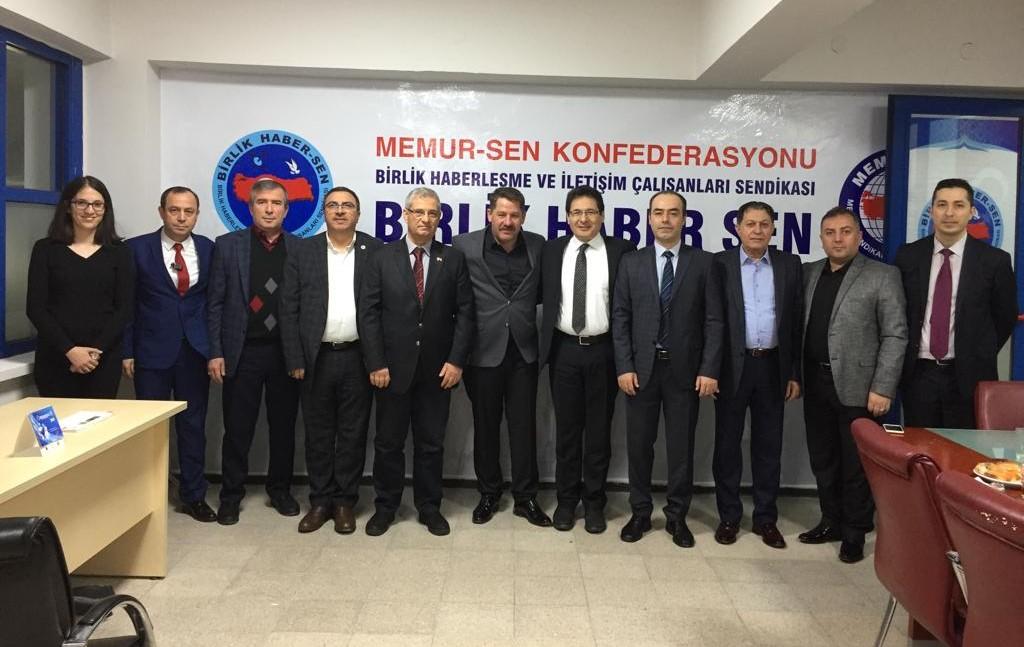 İzmir Teşkilatı Ziyaret Edildi