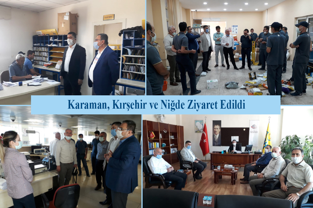 Karaman, Kırşehir ve Niğde Ziyaret Edildi