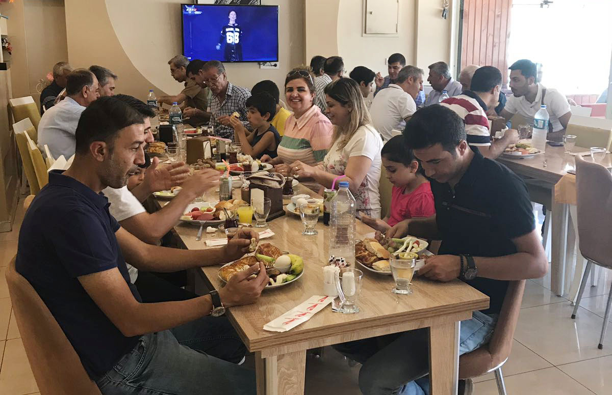 Mardin Nusaybin'de Kahvaltı Programı Düzenlendi