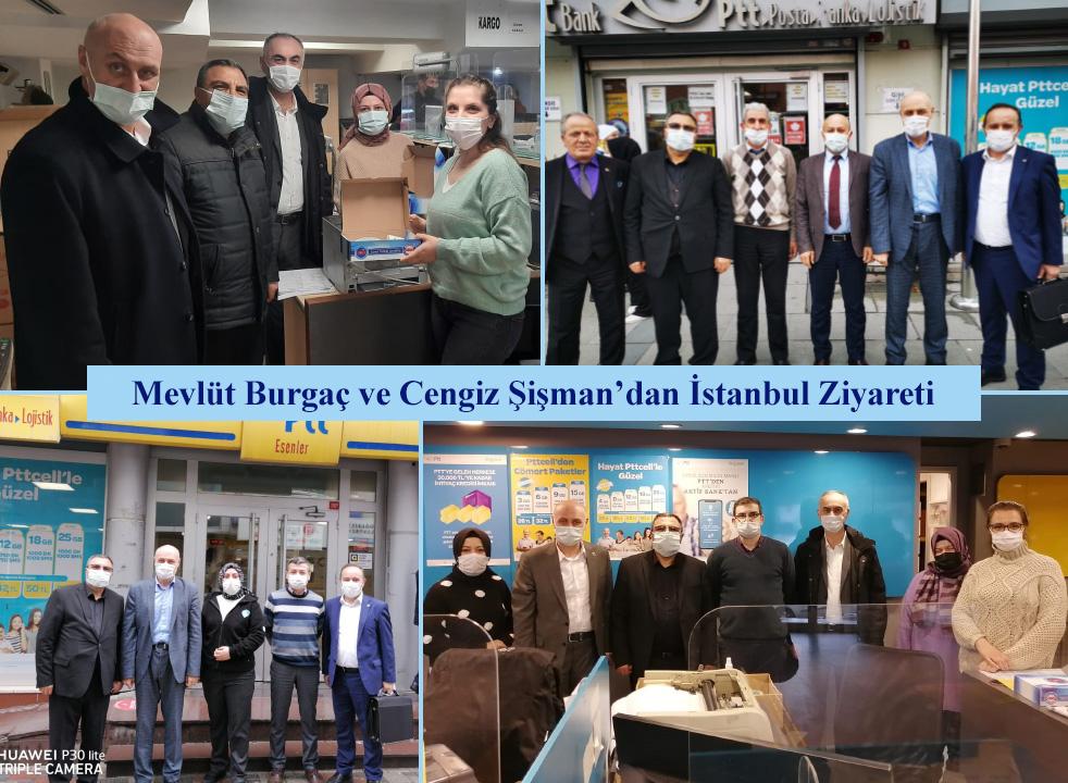 Mevlüt Burgaç ve Cengiz Şişman'dan İstanbul Ziyareti