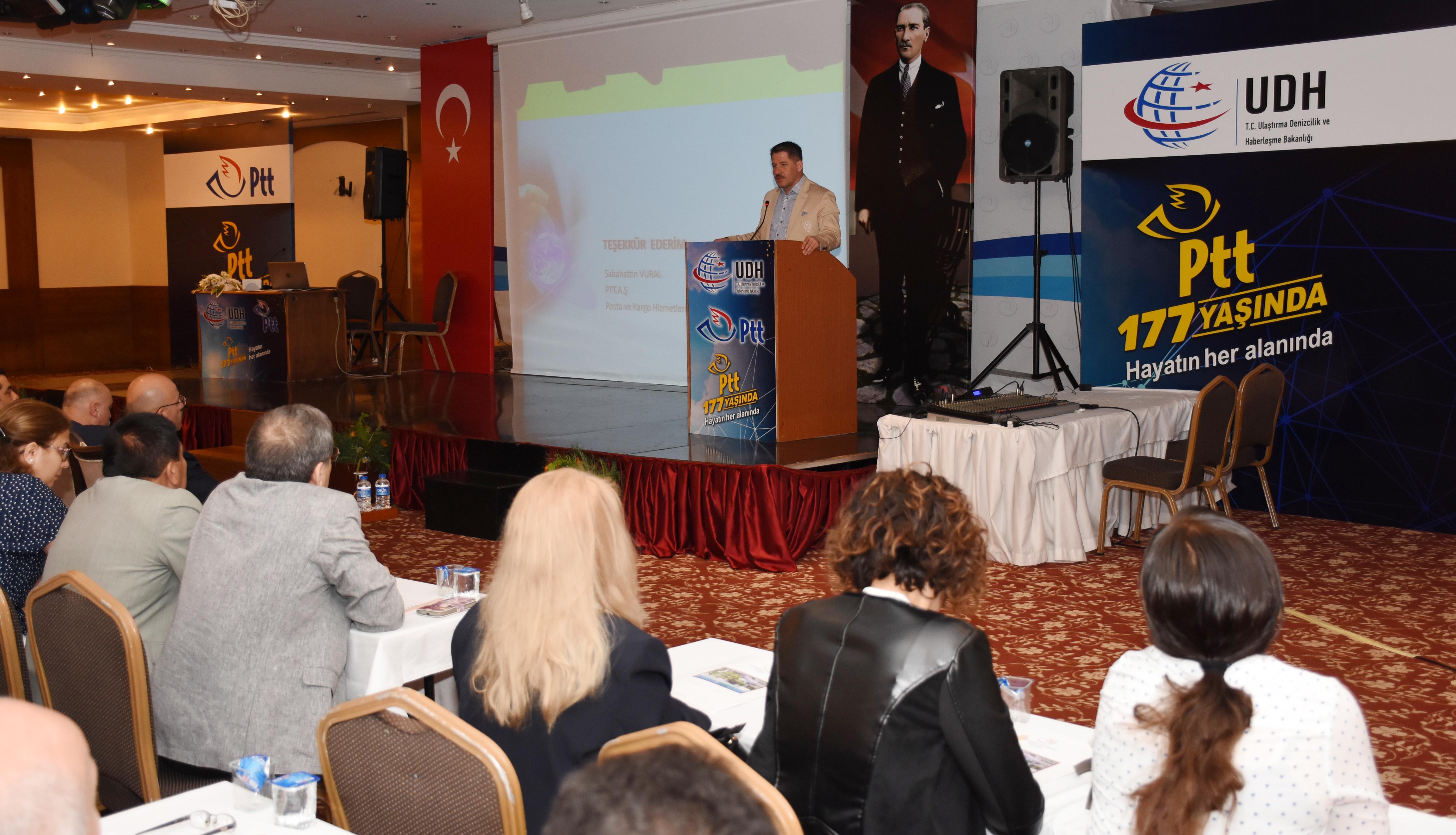 Genel Başkan Budak, Antalya'da PTT A.Ş. Müdürleri İle Bir Araya Geldi