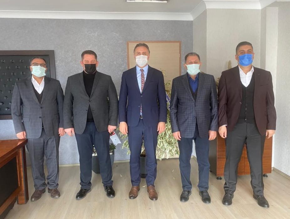 PTT A.Ş. Destek Hizmetleri ve Ulaşım Daire Başkanı Fatih Tezcan'a Hayırlı Olsun Ziyareti