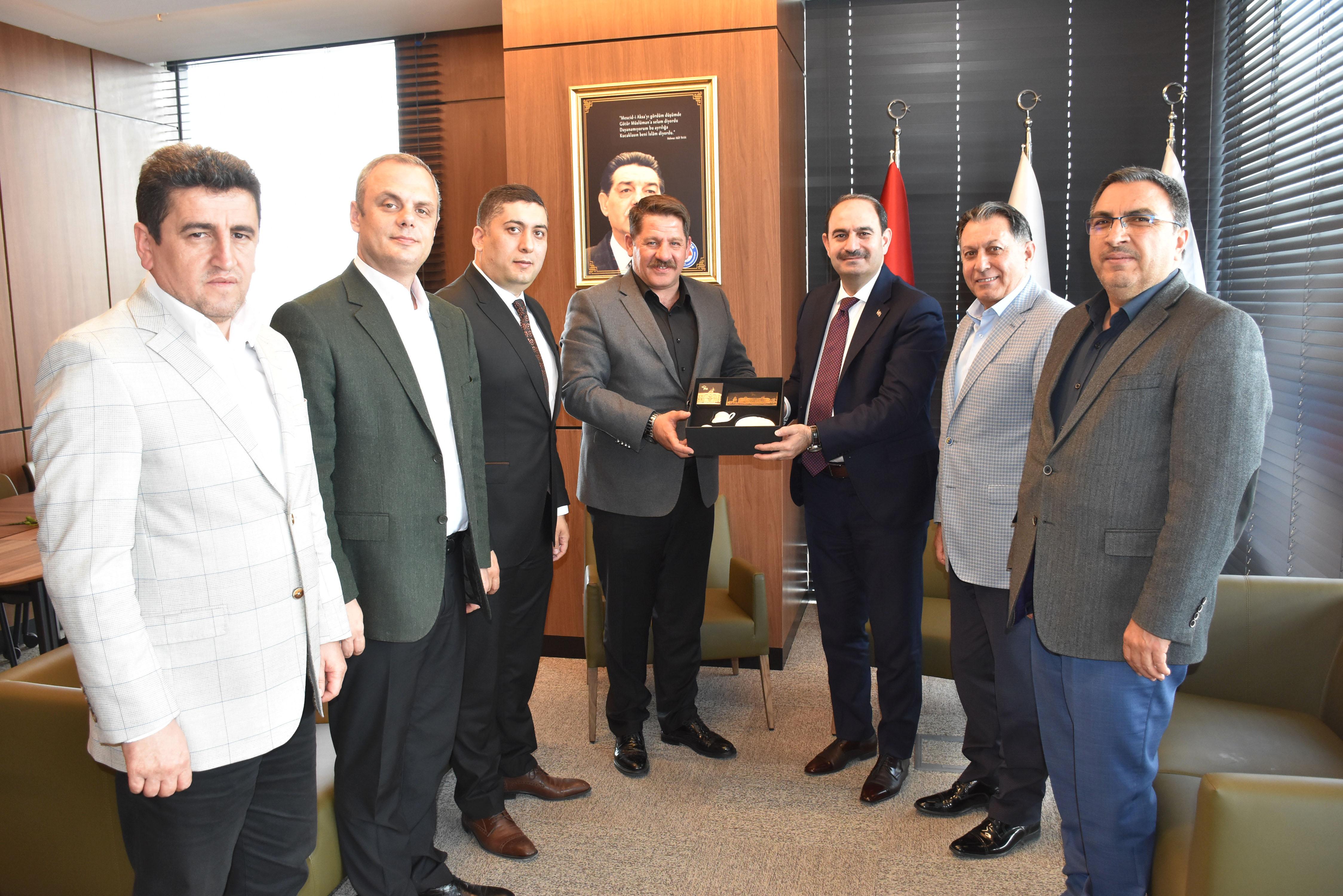 PTT A.Ş. Genel Müdürü Bozgeyik'ten Birlik Haber-Sen'e Hayırlı Olsun Ziyareti