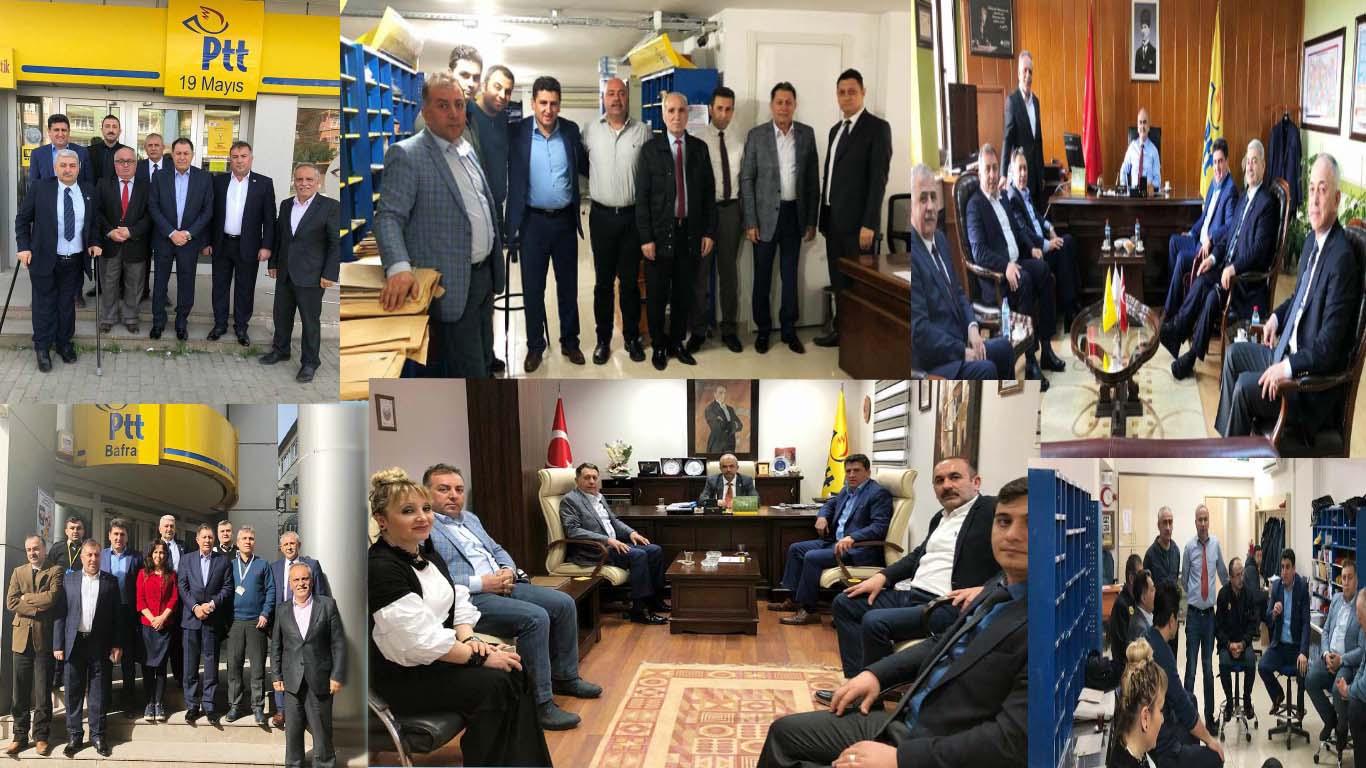 Teşkilat Çalışmalarımız Karadeniz Bölgesi'nde Devam Ediyor
