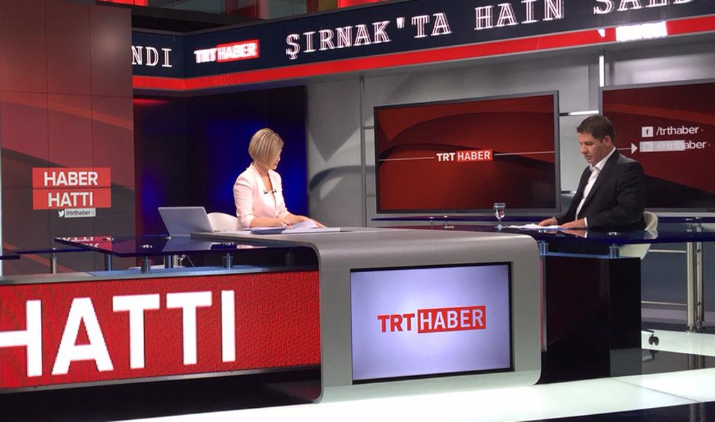 Genel Başkanı Ömer Budak TRT Haber'de Haber Hattı Konuğu Programında