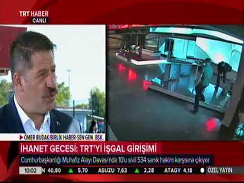 Genel Başkan Ömer Budak TRT'de 15 Temmuz Gecesini Anlattı